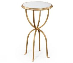 Jonathan Charles Lamp Table Horseshoe