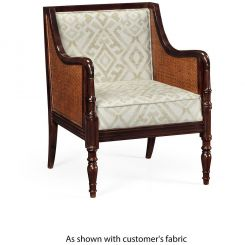 Jonathan Charles Accent Chair Bergere in COM