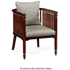 Jonathan Charles Accent Chair Slat in COM