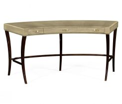 Jonathan Charles Curved Desk Art Deco