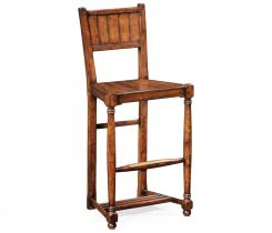 Jonathan Charles Stool Cottage with Baluster Legs