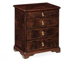 Jonathan Charles Bedside Chest of Drawers Chippendale Gothic
