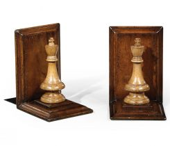 Jonathan Charles Bookends Chess Piece King