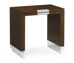 Jonathan Charles Nest of Tables Military in Santos Rosewood