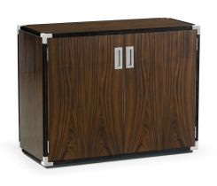 Jonathan Charles Storage Cabinet Military in Santos Rosewood