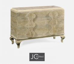 Jonathan Charles Chest of Drawers Eclectic with Marble Top