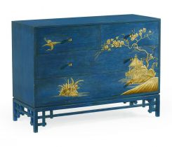 Jonathan Charles Chest of Drawers Chinoiserie