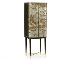 Jonathan Charles Drinks Cabinet Chinoiserie Style