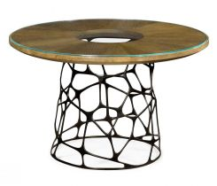 Jonathan Charles Round Coffee Table Malaysian