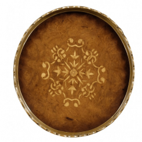 Jonathan Charles Round Tray 18th Century - Small