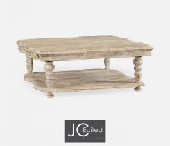 Jonathan Charles Square Coffee Table Eclectic