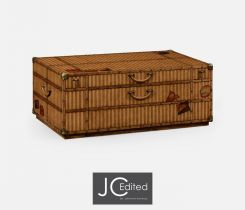 Jonathan Charles Coffee Table Travel Trunk