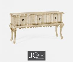 Jonathan Charles Console Table with Drawers Eclectic