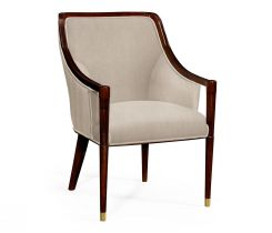 Jonathan Charles Dining Chair Contemporary Malaysian in Mazo