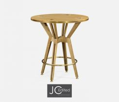Jonathan Charles Counter Table Architectural in Oak