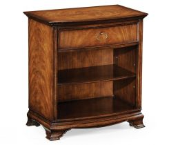 Jonathan Charles Bedside Table with Shelf Monarch