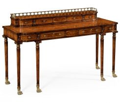 Jonathan Charles Buffet Console Table Lions Paw