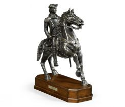 Jonathan Charles George Washington on Horse Statue on Base