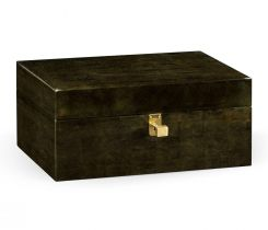 Jonathan Charles Decorative Box Oriental in Bronze