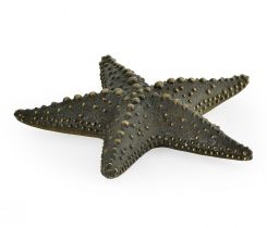 Jonathan Charles Starfish Figurine in Dark Bronze