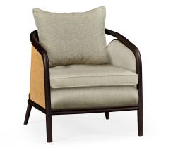 Jonathan Charles Accent Chair Malaysian in Mazo