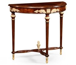 Jonathan Charles Demilune Console Table Bakewell