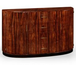 Jonathan Charles Demilune Sideboard Rosewood