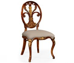 Jonathan Charles Dining Chair Monarch with Oval Back