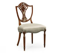 Jonathan Charles Dining Chair Renaissance with Mother of Pearl Details