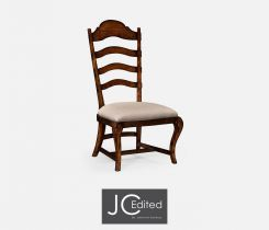 Jonathan Charles Dining Chair in Rustic Walnut