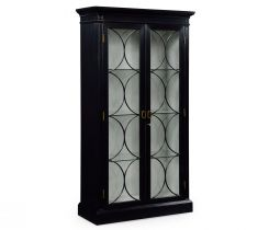 Jonathan Charles Display Cabinet Palace in Black
