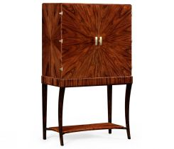 Jonathan Charles Drinks Cabinet Art Deco Rosewood