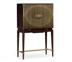Jonathan Charles Drinks Cabinet Ribbed