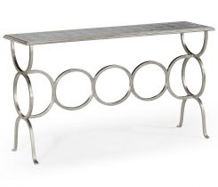 Jonathan Charles Console Table Circles