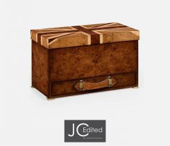 Jonathan Charles Decorative Box with Drawer Union Jack