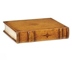 Jonathan Charles Decorative Faux Book Box Victorian
