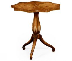 Jonathan Charles Nine Sided Lamp Table Sheraton