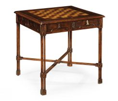 Jonathan Charles Chess Tables Chippendale Gothic