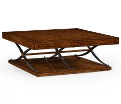 Jonathan Charles Square Coffee Table Industrial