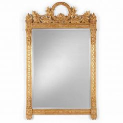 Jonathan Charles Wall Mirror Empire Style