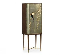 Jonathan Charles Drinks Cabinet with Hand Painted Birds