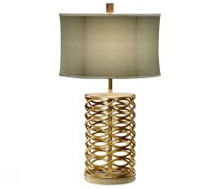 Jonathan Charles Table Lamp Interlaced