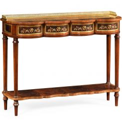 Jonathan Charles Console Table with Drawers Renaissance