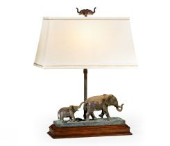 Jonathan Charles Table Lamp The Elephant - Left