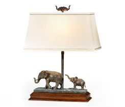 Jonathan Charles Table Lamp The Elephant - Right