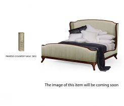 Jonathan Charles King Bed Frame Louis XV in Country Sage