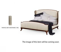 Jonathan Charles King Bed Frame Louis XV in Grey Weathered