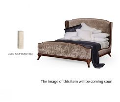 Jonathan Charles King Bed Frame Louis XV in Limed Tulip Wood