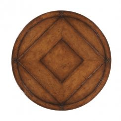 Jonathan Charles Lazy Susan Cottage Walnut