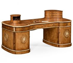 Jonathan Charles Partners Desk Neo-classical